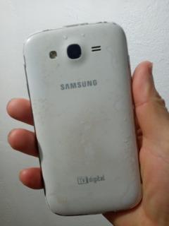 Grand Duos Samsung Tv Digital Tela Trincada Funcionando Ok