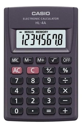 Calculadora Casio Portátil Hl-4a