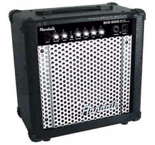 Amplificador Guitarra Randall 25w Rbd25t