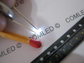10x Nano Led Smd 0402 Alto Brilho Mini Luz Miniatura Micro