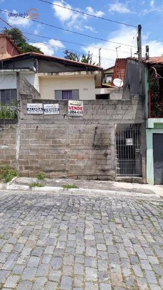 Casa Com 2 Dormitórios À Venda, 78 M² Por R$ 180.000,00 - Vila Zezé - Jacareí/sp - Ca1574