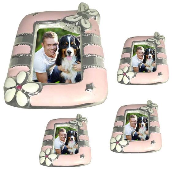 Porta Retrato Kit 24 Unid Foto 7x5 Deitado Em Pe Fotografia