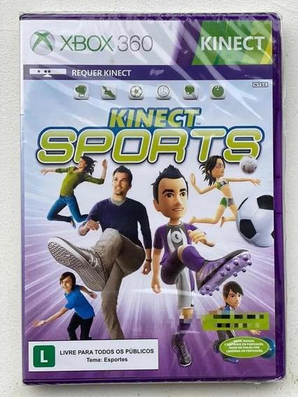 Jogo Kinect Sports 1 Xbox 360 Tem Boliche Mídia Física Novo