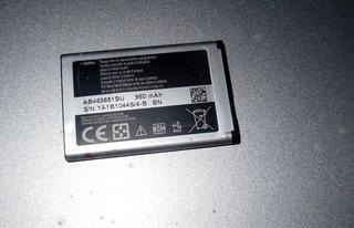 Bateria Celular Samsung Ab463651bu 960mah Original