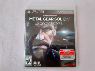 Metal Gear Solid V Ground Zeroes Original Para Ps3