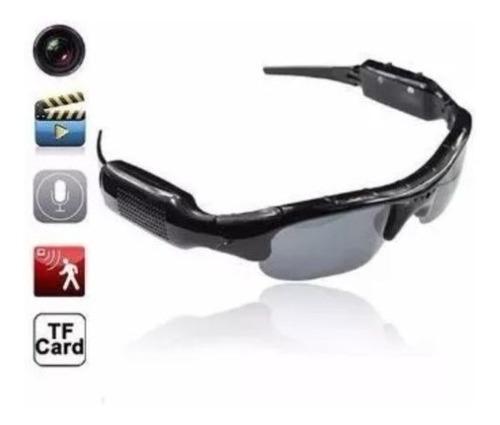 Mini Cámara Gafas De Sol Con Video Audio Grabador De Voz Bic