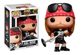 Funko Pop Rocks Guns N Roses Axl Rose 50 Original!