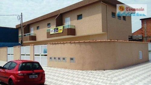 Sobrado Com 2 Dormitórios À Venda, 57 M² Por R$ 185.000,00 - Balneário Esmeralda - Praia Grande/sp - So0154