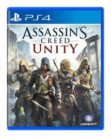 Assassins Creed Unity Ps4 Mídia Física
