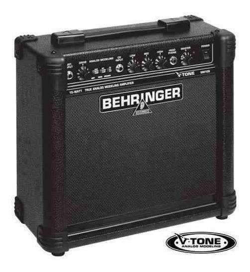 Behringer V-tone Gm108 Amplificador De 15 W Para Guitarra