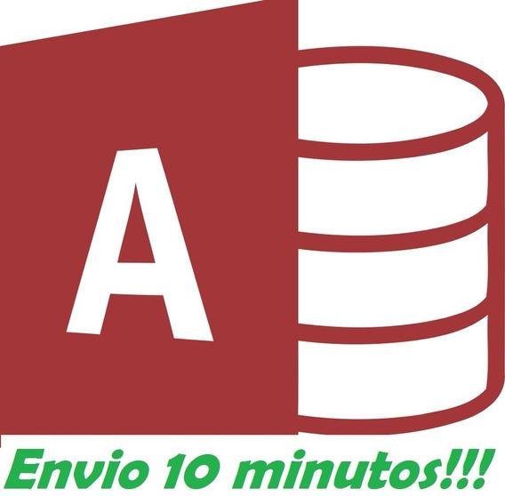 Sistema Em Access + De 40 Programas Envio Rápido!