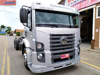 Caminhão Vw 24-250 Constellation,ano 09/09,452.000 Km, Fino