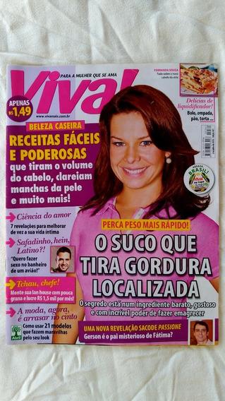 Revista Viva! Edição 561 2010 Fernanda Souza