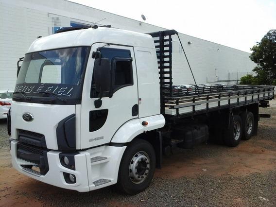 Ford Cargo 2428 Ano 2012 Truck Carroceria Madeira