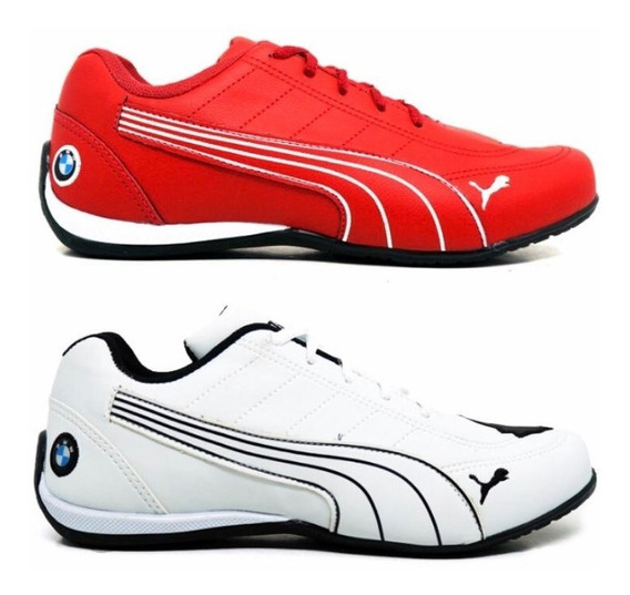 Kit 2 Pares Tenis Masculino Bmw Cat 1 Leve Confortavel