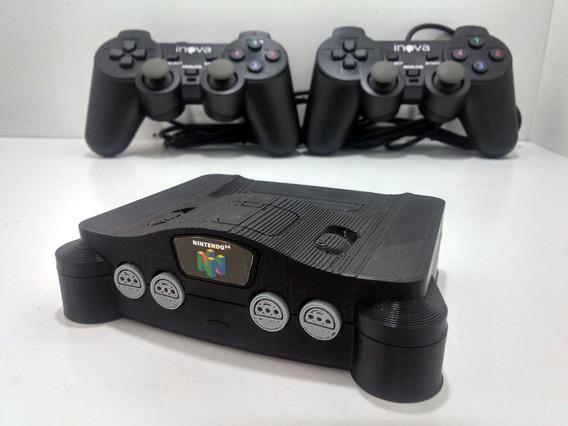 Mini Nintendo 64 Retro Hdmi 7000 Jogos De Snes A Playstation