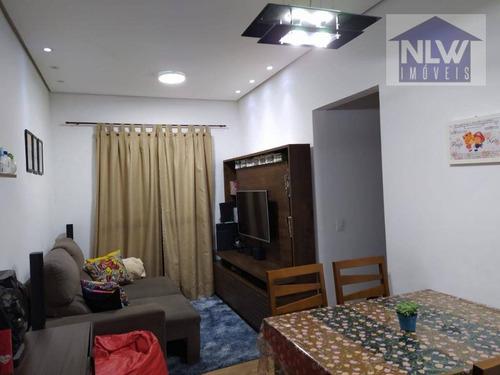 Apartamento Garden Com 3 Dormitórios À Venda, 70 M² Por R$ 291.600,00 - Vila Curuçá - São Paulo/sp - Gd0024