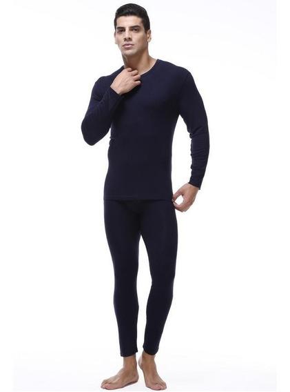 Roupa Térmica Agasalho Blusa+calça Forro Peluciado+meia+luva