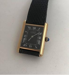 Reloj Cartier Tank Caja Y Papeles Año 1980 **glamdvt**