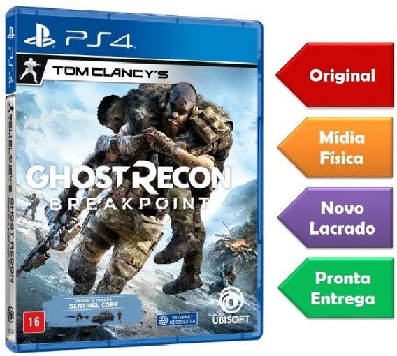 Ghost Recon Breakpoint Ps4 Mídia Física Lançamento Novo