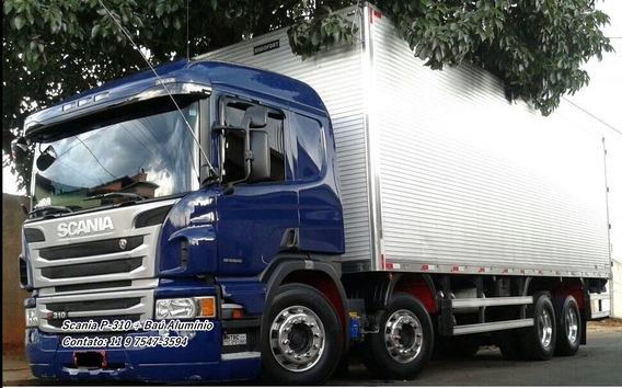 Scania P 310 Ano 2014/15 Bau (ler Descriçao )