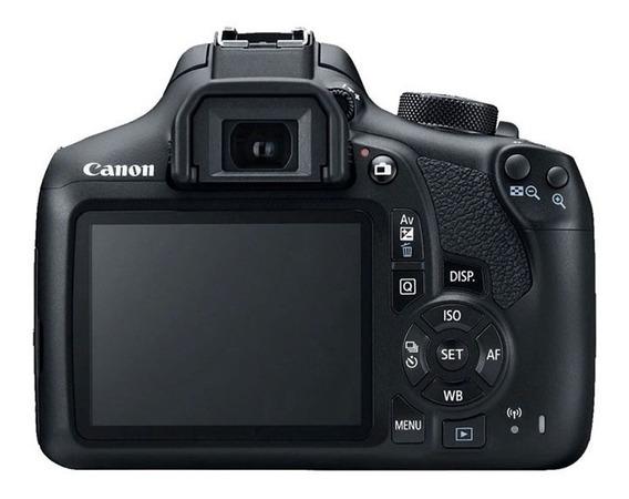 Câmera Canon T7 + Tripé Fotográfico + Rebatedor + Cartão 32g