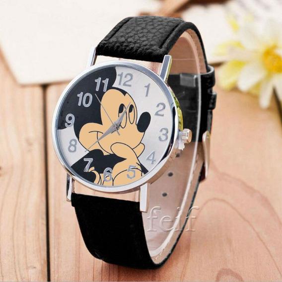 Relógio De Pulso Mickey Mouse Criança Adolescente 167