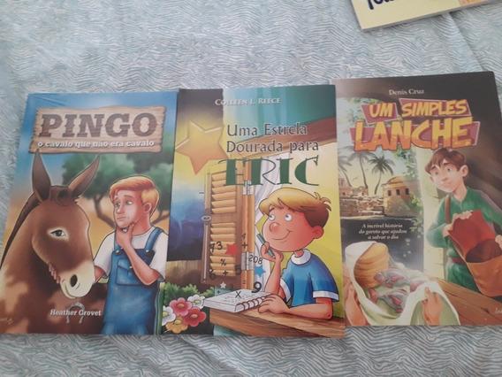 Livros Infantis Pingo,uma Estrela Dourada E Um Simples Lanch