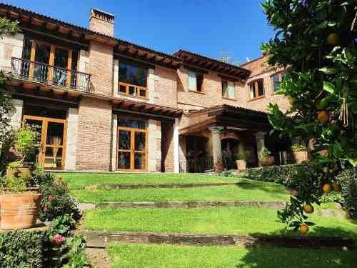 Bhv1022.-casa En Venta En Lomas De Santa Fe. Privacidad Y Confort Inigualable.