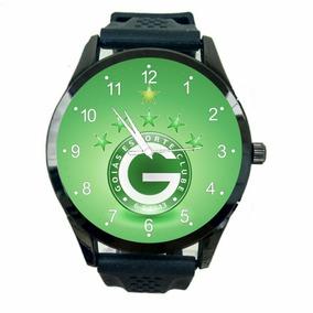 Relógio Goias Unissex Esporte Clube Futebol De Pulso Fc T669