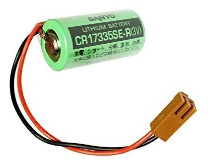 Bateria De Lithium 3v Cr17335se-r Com Fio E Conector Fdk_sanyo