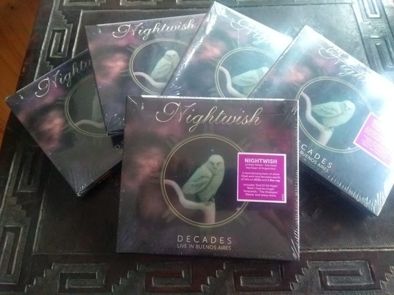 Nightwish - Decades: Live In Buenos Aires - Bluray+2cd Stock