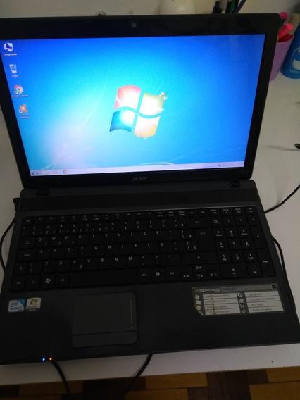 Notebook Acer. Processador Intel Pentium Para Estudo.