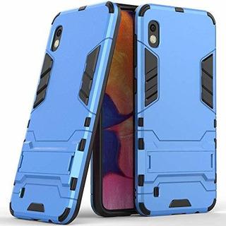 Funda Para Samsung Galaxy A10 (6,2 Pulgadas) 2 En 1 Híbrida