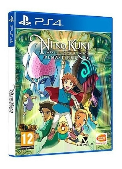 Ni No Kuni: Wrath Of The White Witch Remastered Ps4 Envio Já
