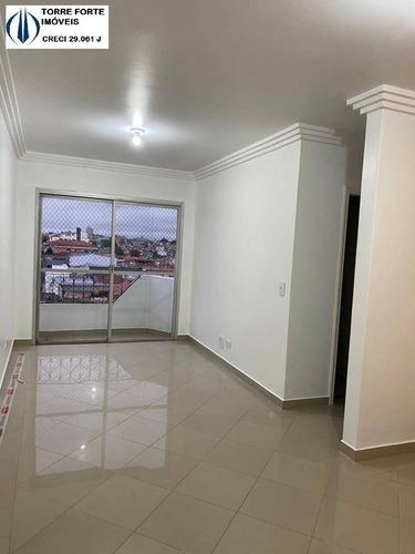 Imagem 1 de 15 de Lindo Apartamento Com 2  Dormitórios, 2 Banheiros, 1 Vaga Na Vila Carrão - 1479