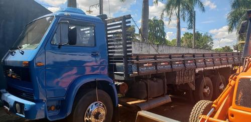 Caminhão Vm 13130 6x2 Carroceria De Madeira - Ano 1984 - Img