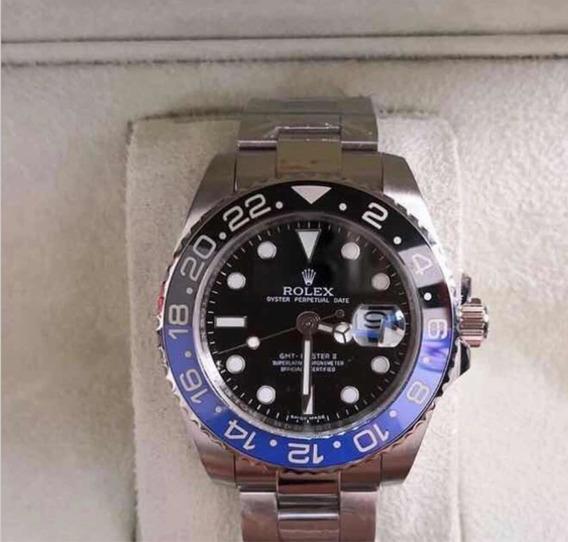 Relógio Rolex Gmt Master , Automático, Safira,,caixa