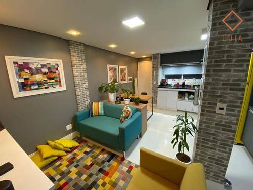 Apartamento Com 2 Dormitórios À Venda, 57 M² Por R$ 530.000,00 - Cerqueira César - São Paulo/sp - Ap36876