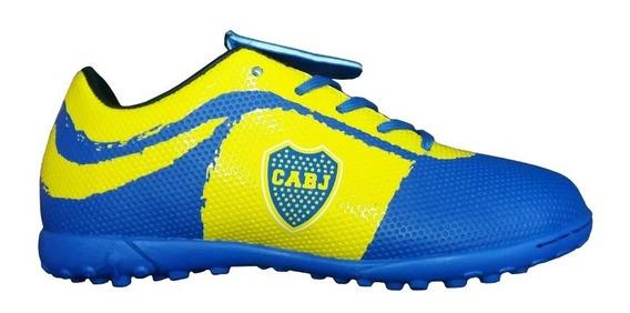 Boca Juniors Botines Papi Talle 28 Al 39 - Producto Oficial