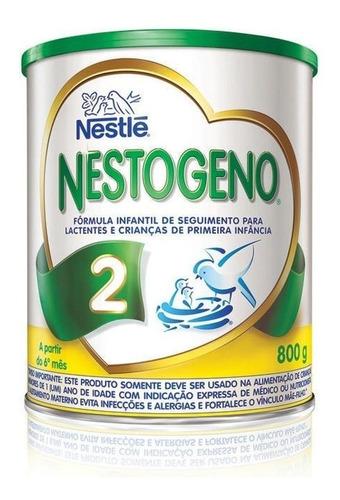 Fórmula infantil em pó Nestlé Nestogeno 2 em lata 800g
