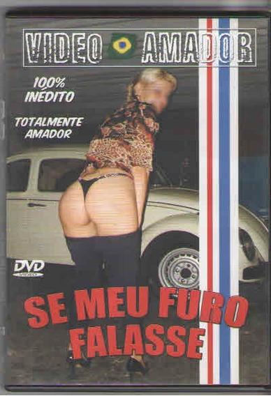 Dvd Porno Video Amador, Se Meu Fusca Falasse, Original