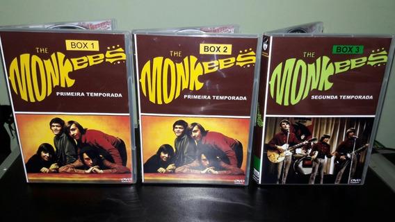 Dvd Box The Monkees - Série Clássica Completa ( 11 Dvds )