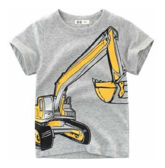 Playera Para Niño Tractor