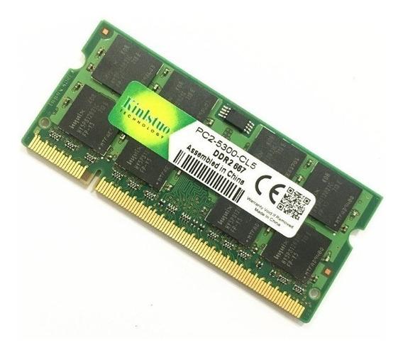 Memória Ddr2 2gb 667mhz Pc2-5300 Chip P/ Notebook Nova