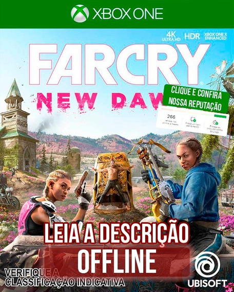 Far Cry New Dawn Deluxe Edition I Xbox One I Midia Offline