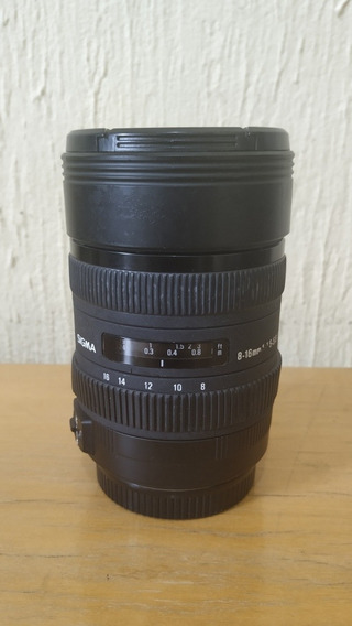 Lente Sigma P/ Canon Dc 8-16mm F/4.5-5.6