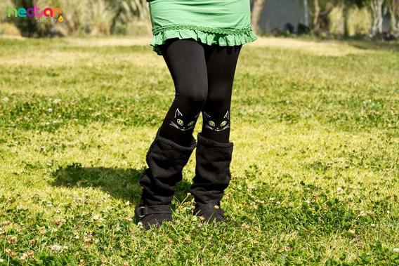 Leggings Mallónes Para Mujer De Algodón Tr047 Gatos