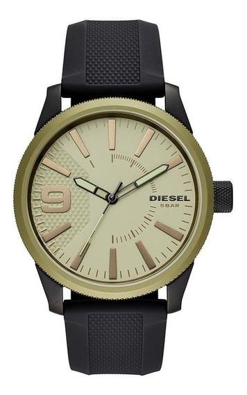 Relógio Diesel Masculino Rasp Bicolor Dz1875/8pn