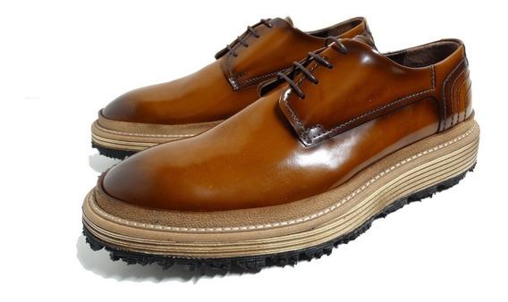 Sapato Masculino Plataforma Priamo Italy Import Ultimo Par